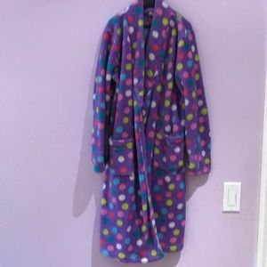 POLKA DOT worn in robe